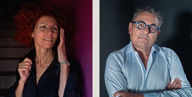 Silvia e Paolo Cinelli Studio 50 Lisca